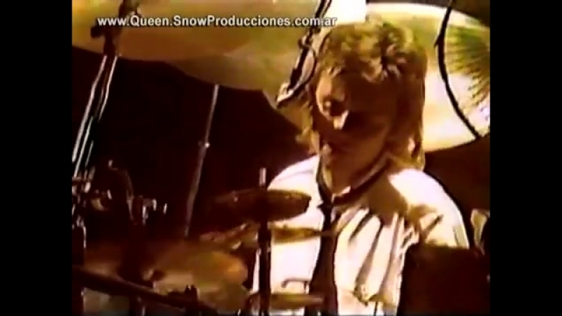 Queen Dont Stop Me Now Concert People of Kampuchea 79