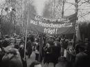 DEFA Augenzeuge 19 2 1946 Wiederaufbau LL Demo Nürnberger Kriegsverbrecher Prozess
