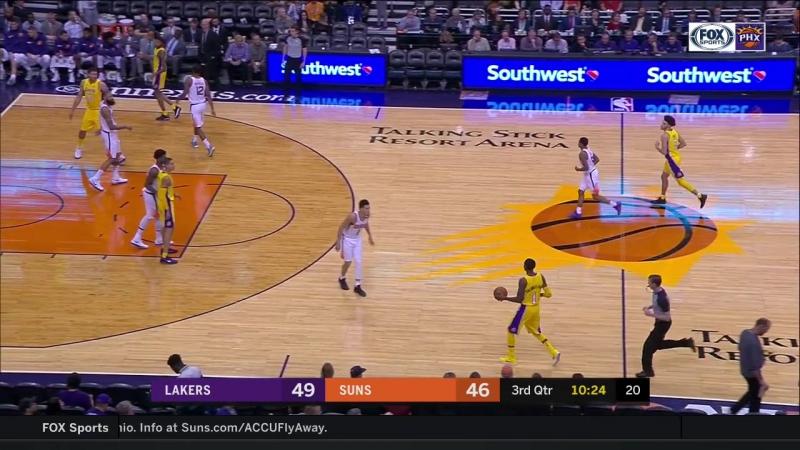 NBA 2017-18/ 13.11.2017 / Финикс - Лейкерс