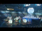 Церемония открытия 19-го Всемирного фестиваля молодежи и студентов