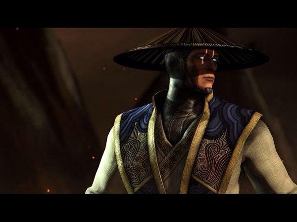 Mortal Kombat X: All Raiden Intro Dialogue (Character Banter) 1080p HD