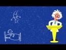 СУТКИ - СИНИЙ ТРАКТОР Развивающая песенка мультик ДЕНЬ НОЧЬ ВРЕМЯ для детей малы