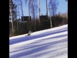 Мертвая петля (Killer Loop) на сноуборде. Russian Snowboarder. Разворот вокруг себя в карвинге.