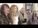 Песенный флешмоб на вокзале в Тирасполе. Полная версия