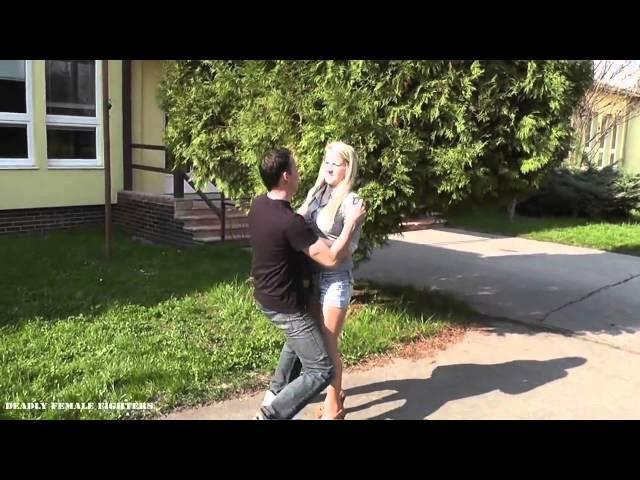 Nikola Taekwondo teachers bad day preview Ballbusting