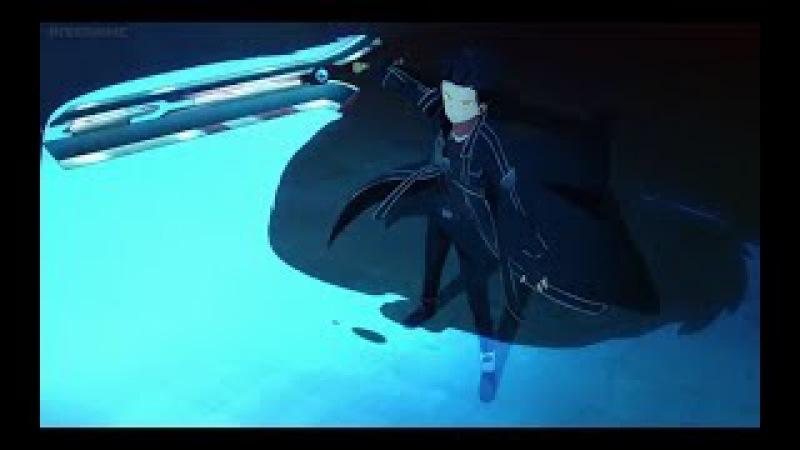 Sword Art Online Ordinal Scale - Kirito God Mode and Yuna Final Song