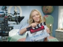 Behind-the-scenes footage of the Mamma Mia 2 cast on set
