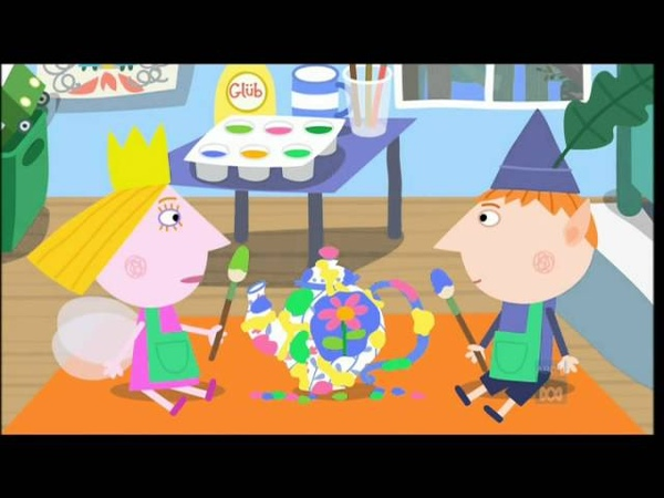 Ben and Holly's Little Kingdom S01E06 Queen Thistle's Little Teapot