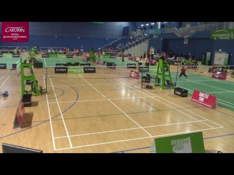 FZ Forza Irish Para-Badminton International 2018 - Day 3 - Court 2