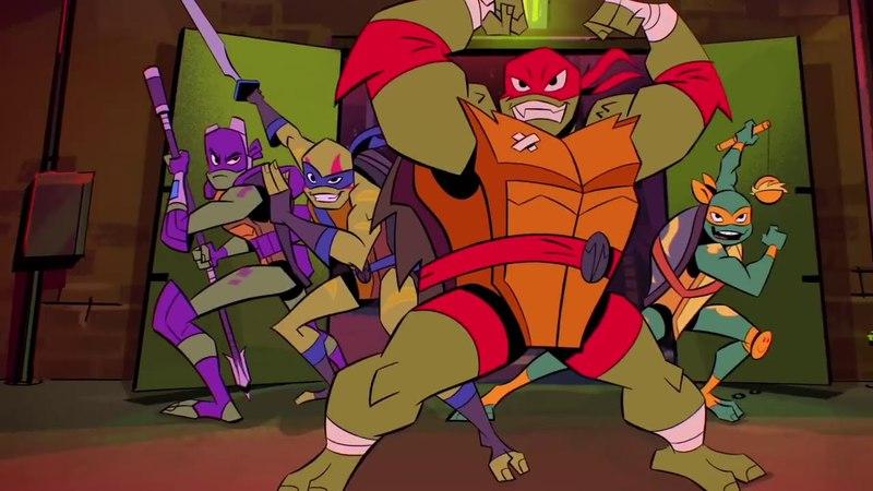 Черепашки-ниндзя: Восстание / Rise of the Teenage Mutant Ninja Turtles / на русском