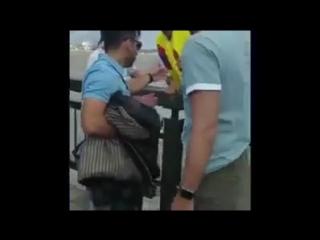 Колумбийские болельщики спасли тонущего из Казанки