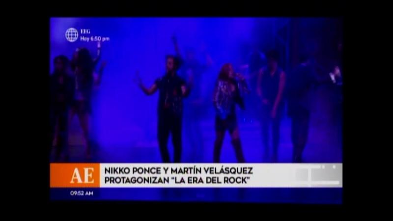 Nikko Ponce y Martin Velasquez protagonizan La Era del Rock
