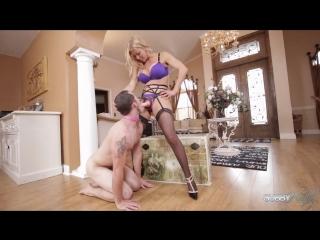 Alexis Fawx - Rich Slave Cuckold suck