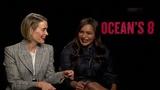 Sarah Paulson and Mindy Kaling talk Oceans 8