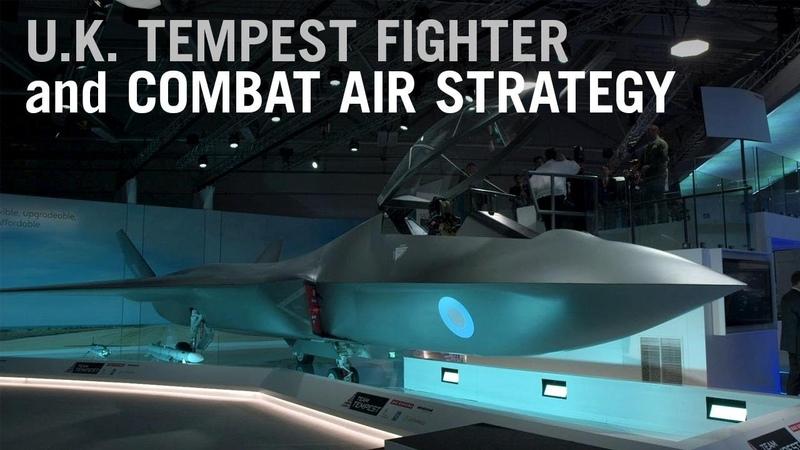 U.K. Unveils Tempest Fighter Concept as Trailblazer for New Combat Air Strategy – AINtv