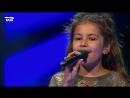 Малышка класно поет песню Alphabet Boy af Melanie Martinez на шоу Голос Дети 2017