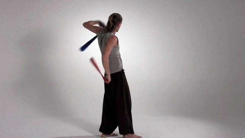 Looping poi video: backward btb pendulum weave