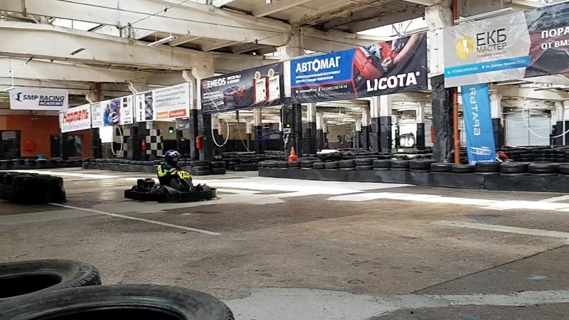Делаю пробные заезды в TURBA Karting Hall🏁🏆