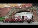 Открытие сезона Военные оркестры в парках Концерт суворовцев 3 го курса в Александровском саду 19 05 2018
