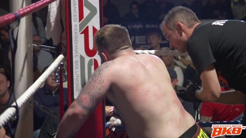 MELVIN GUILLARD VS DAN BREEZE BKB5 BARE KNUCKLE FIGHT WITH BACKSTAGE FOOTAGE EXCLUSIVE