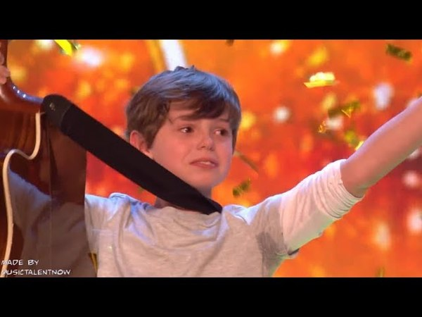 Father Son Get GOLDEN BUZZER from SIMON COWELL! 2 GOLDEN BUZZER 2018 - Jack and Tim on Got Talent