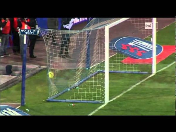Cavani Goal ( Napoli-Inter 2-0 Coppa italia 25-01-2012 )