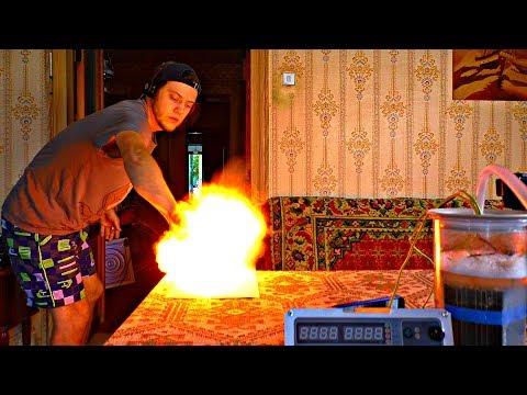 ✅Добыл топливо из ВОДЫ 💡 Гремучий водород вместо бензина! Самодельный электролизёр