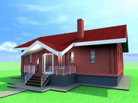 дом 9х12 с погребом, застеклёнными террасой и крыльцом.