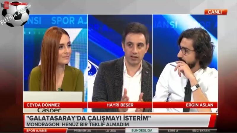 GALATASARAY Spor Ajansı ¦ Ndiaye, Mondragon, Ahmet Musa Yorumları 24 Haziran 2018
