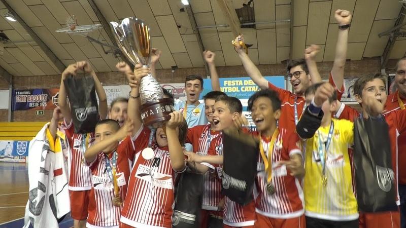 Final Copa de Catalunya Benjamí Futbol Sala (9a Festa del Futbol Català)