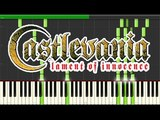 Castlevania - Lament of Innocence - Lament of Innocence (Leon's Theme) (Piano Tutorial, Synthesia)