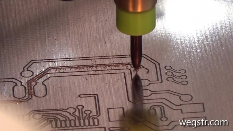 [WEGSTR CNC] How to make a PCB prototyping with UV soldermask - pcb arduino project STEP by STEP