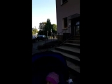 кто рано встаёт тот с Лерой гулять идёт) Германия Эссен ФРГ отцы и дочки))