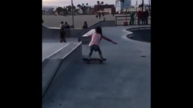 9 y/o girl has skills