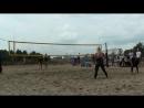 Beach volley Russia Yaroslavl 2018 W 06 Levshina-Movchan and Frolova-Sviridova