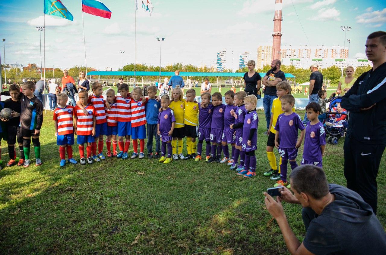 На выходных пройдет очередной тур Чемпионата города среди детских команд