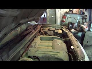Авторемонт Хендай Санта Фе V6 2,7 classic 4WD замена ГРМ роликов натяжения помпа