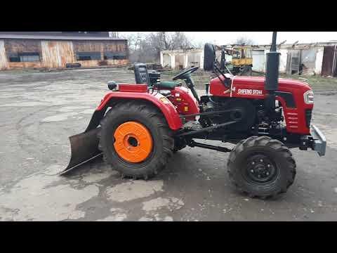Мини-трактор Shifeng SF244 доработка гидравлики. Распределитель Р80