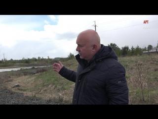 О временной дороге в поселке Красногвардейский