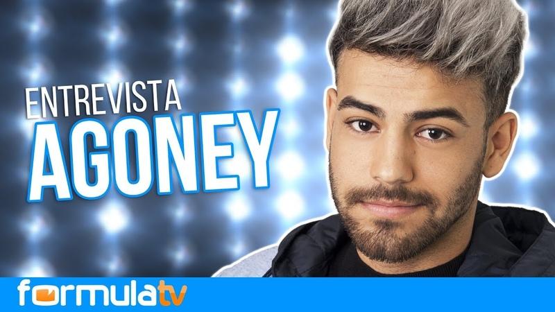 Agoney valora Magia para Eurovisión y el posible Fórmula Abierta