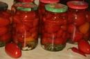 Помидоры без стерилизации Быстрый способ консервации помидоров Банки не взрываются