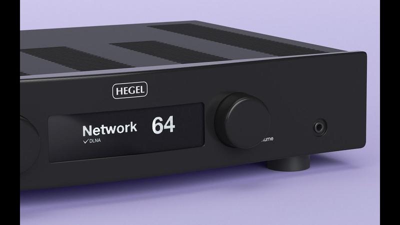 Интегральный усилитель Hegel H90 - распаковка и включение