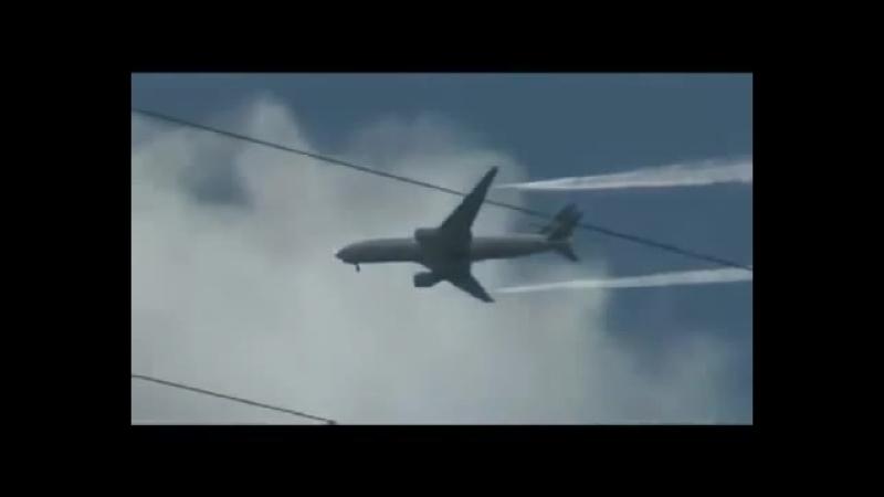 Химтрейлы, или как нас травят, видео от пассажиров