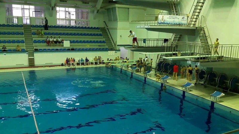 Соревнования 27.05.18 2 прыжок козел 3 метра