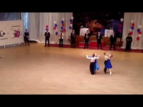 Дети-1 Ваймер Матвей и Пашина София 6 танцев, открытый кл Медленный вальс