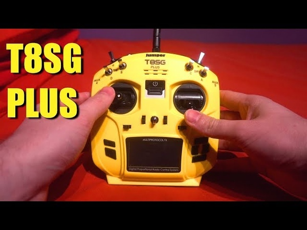 Jumper T8SG Plus - One Transmitter For All Models