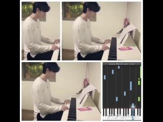[VIDEO] Поклонники узнали, какую музыку играет Ли Чон Сок на фортепиано