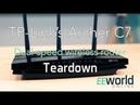 TP Link's Archer C7 wireless router Teardown