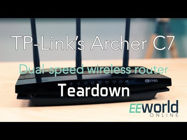 TP-Link's Archer C7 wireless router: Teardown
