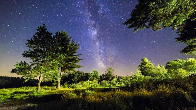Gear Test Nikon D810 8k RAW to 4k Milky Way Timelapse